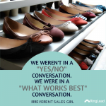 3 Fundamental Sales Lessons from a Chick Who Sold Shoes