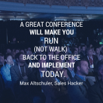 ​How to Achieve Your Sales Goals at Your Next Conference