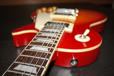 marketing automation rocks - red electric guitar