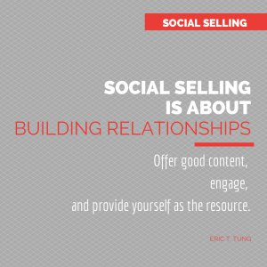 social selling - infographic