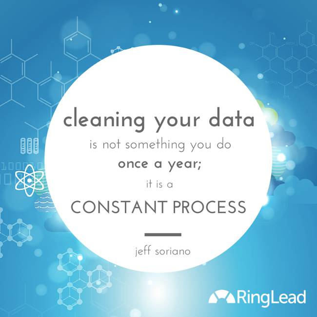 cleaning your data - infograhic