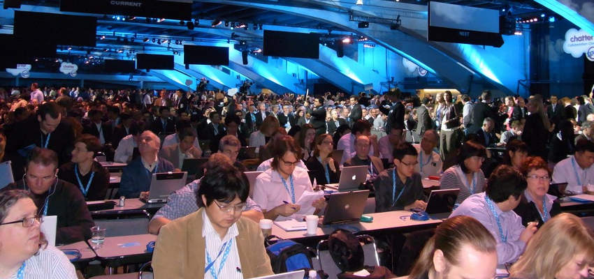 dreamforce 2015 - attendees in session