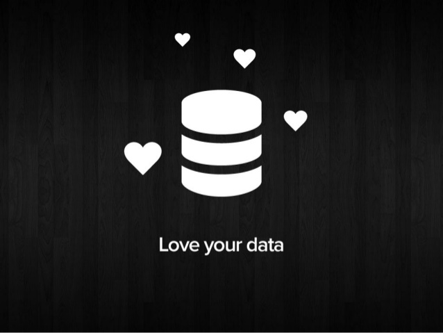 love your data - infographic
