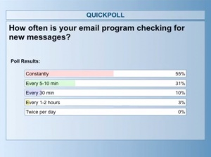 checking email - poll