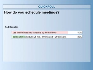 meeting schedule - poll