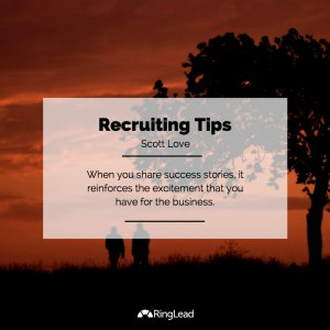recruiting tips - infographic