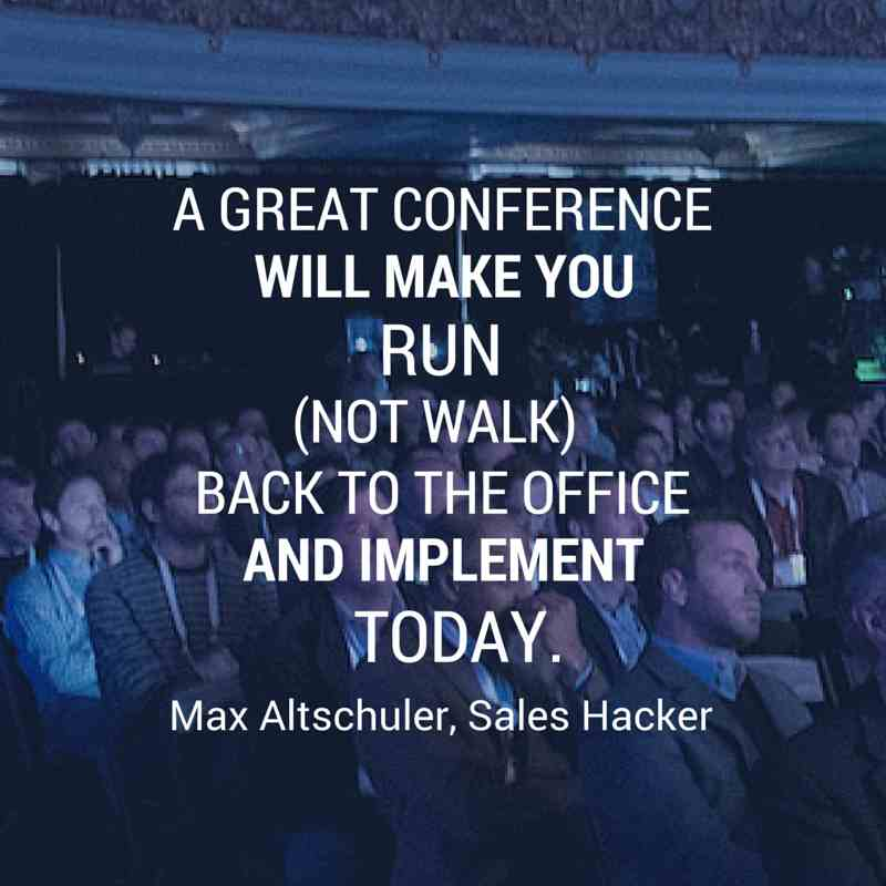 great conference - infographic