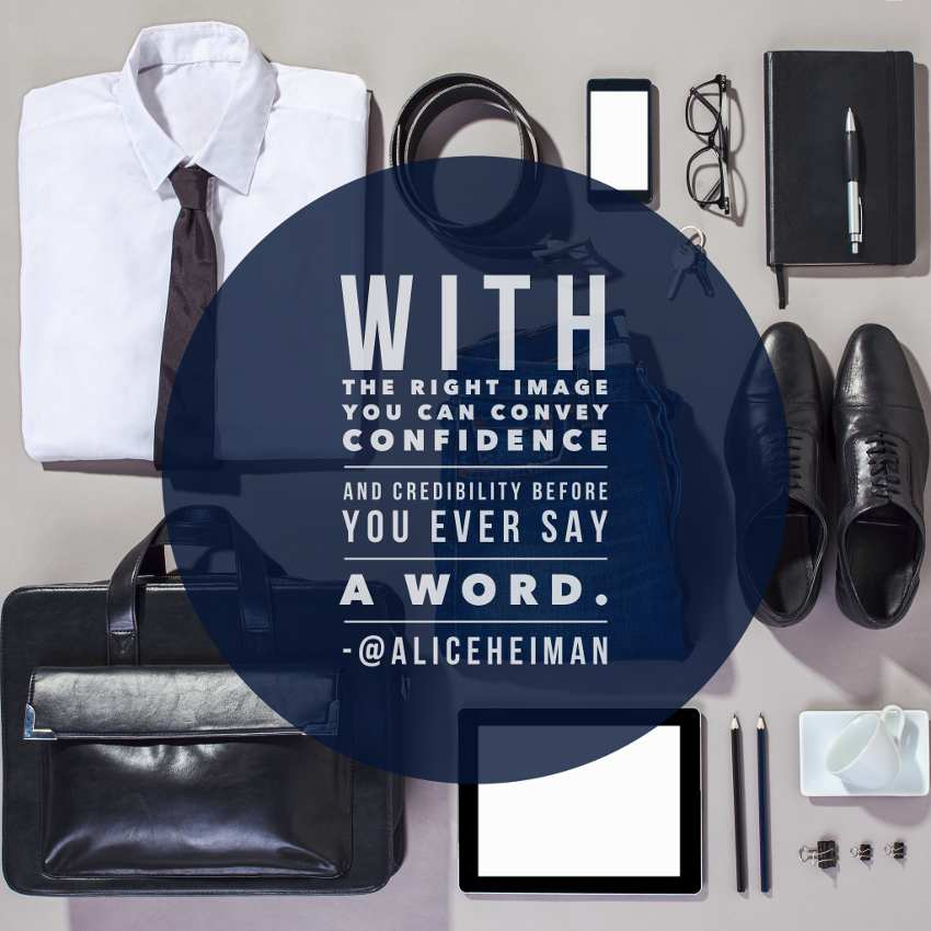 confidence in sales - business attire