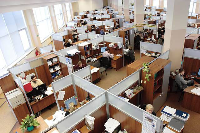 solutions to bad data - cubicles in office