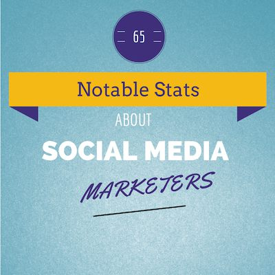 Social Media Stats - infographic