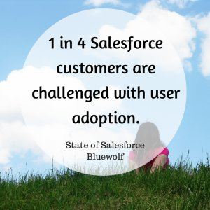 salesforce user adoption - infographic