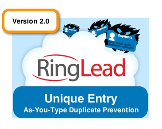 RingLead unique entry