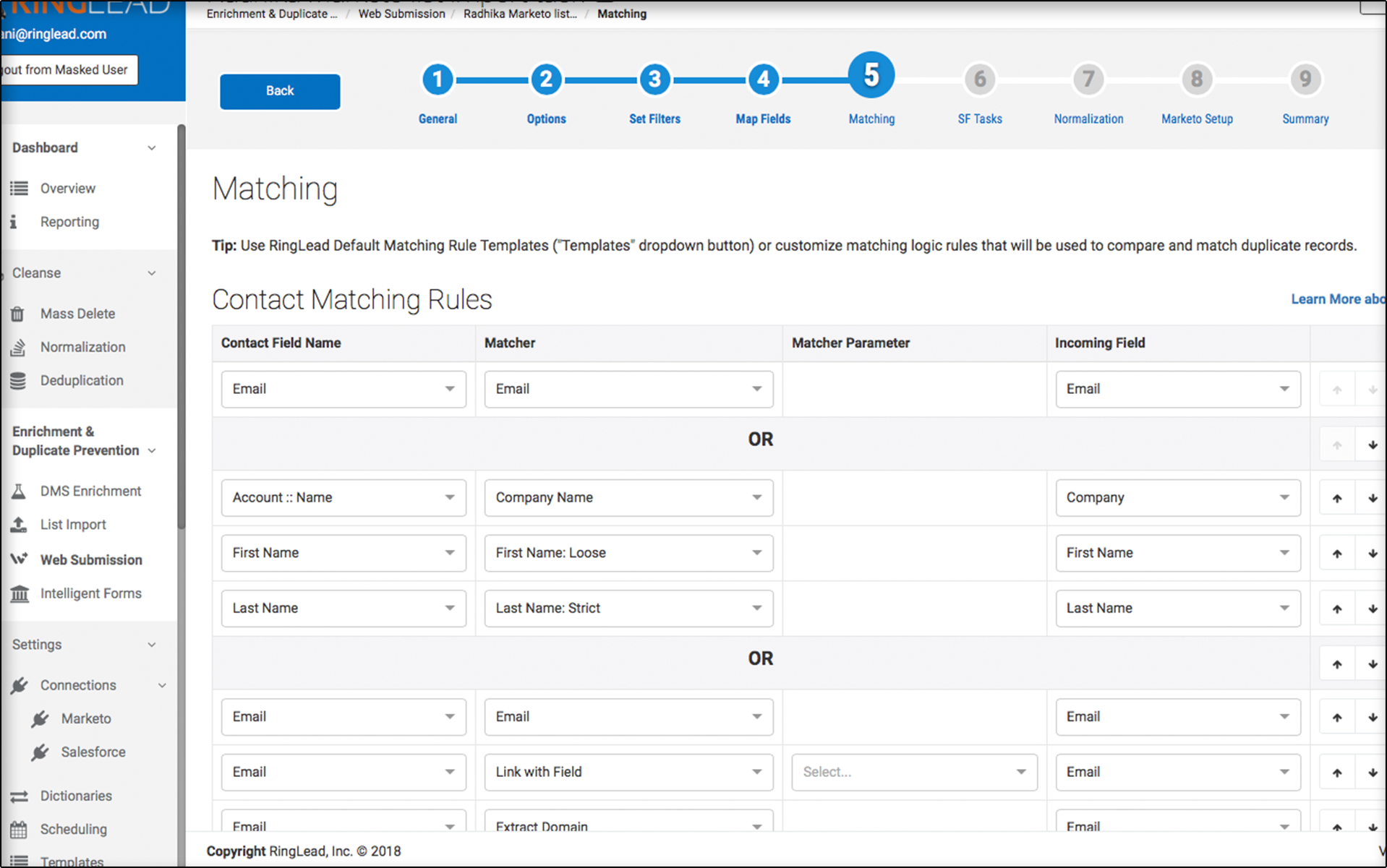 Defend against dirty data with Duplicate Prevention - RingLead