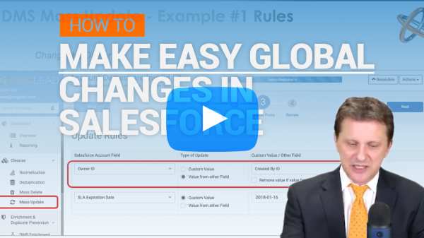 Make Easy Global Changes In Salesforce With Mass Update!