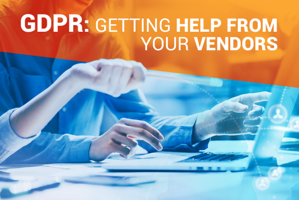 Getting Help From Your Vendors