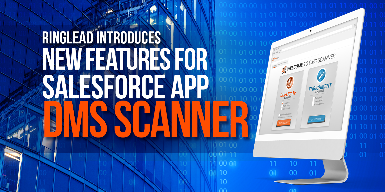 RingLead Introduces New Features For Salesforce App: DMS Scanner