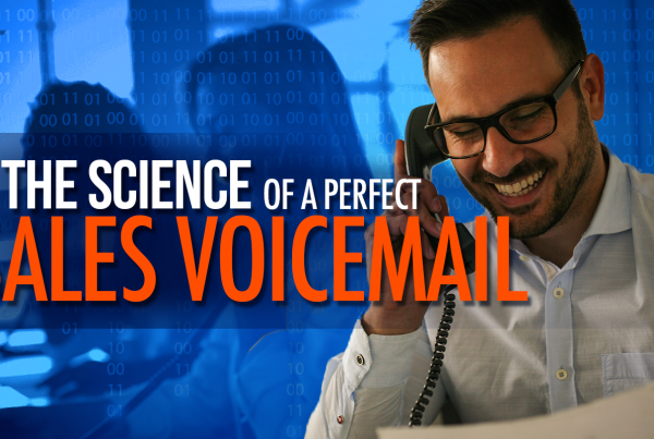 The Science Of A Perfect Sales Voicemail