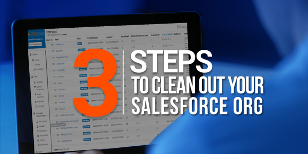 3 Steps To Clean Out Your Salesforce Org