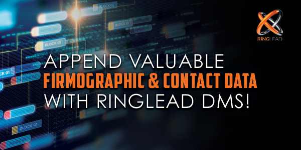 RingLead Delivers Valuable Insight Into Buyers With Data Enrichment