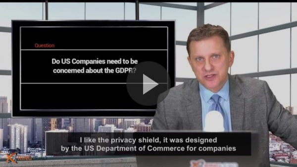 Q7 - Do US Companies need to be concerned about the GDPR?