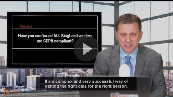Q6 - Have you confirmed ALL RingLead vendors are GDPR compliant?