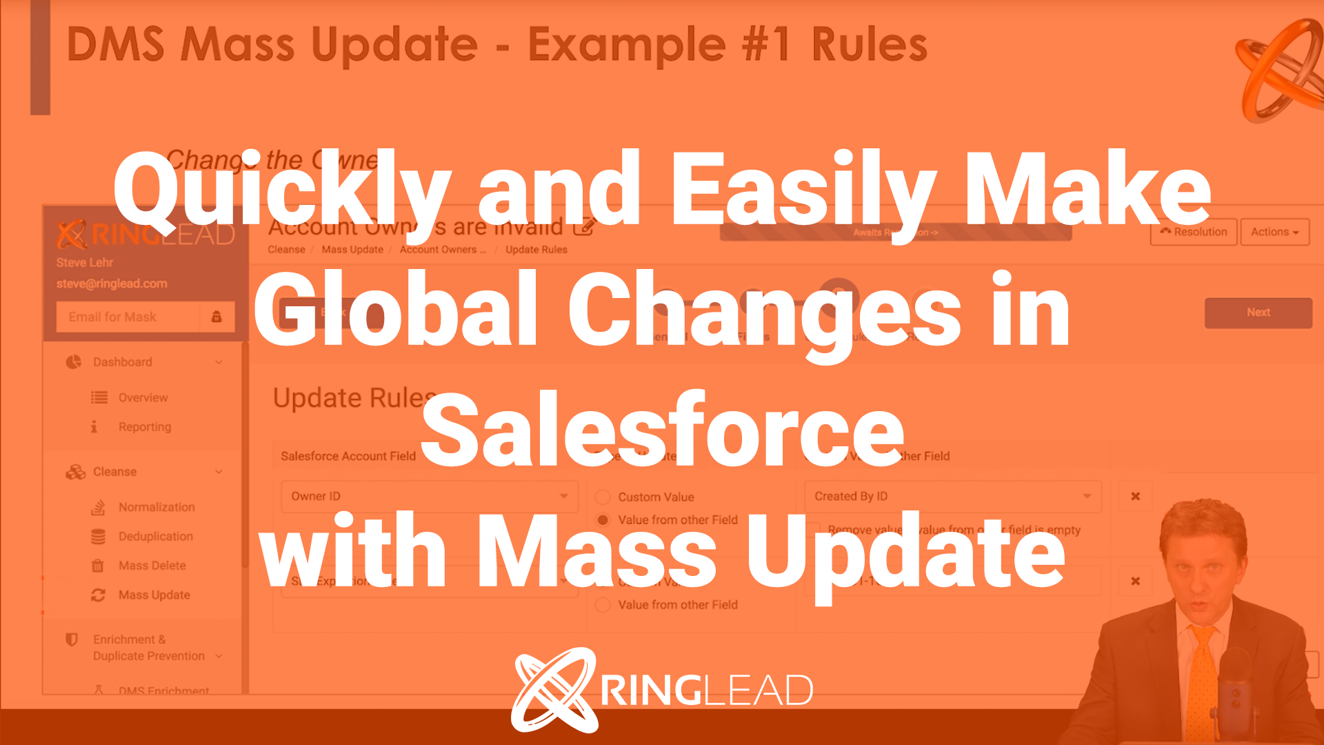 CLEANSE: Quickly and Easily Make Global Changes in Salesforce with Mass Update