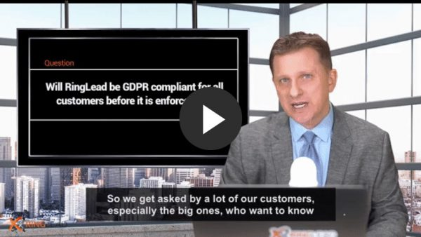 Q1 - Will RingLead be GDPR compliant for all customers before it is enforceable?
