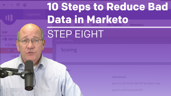 10 Steps to Reduce Bad Data in Marketo: Step 8 - How to Identify Records with Negative Behavioral Scores and Reset the Behavioral Score in Marketo