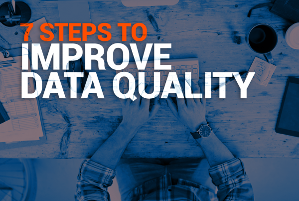 7 Steps To Improve Data Quality