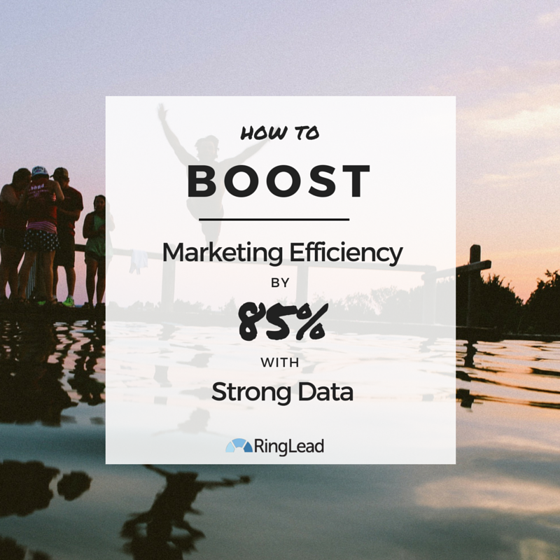 How to Boost Marketing Efficiency By 85% with Strong Data