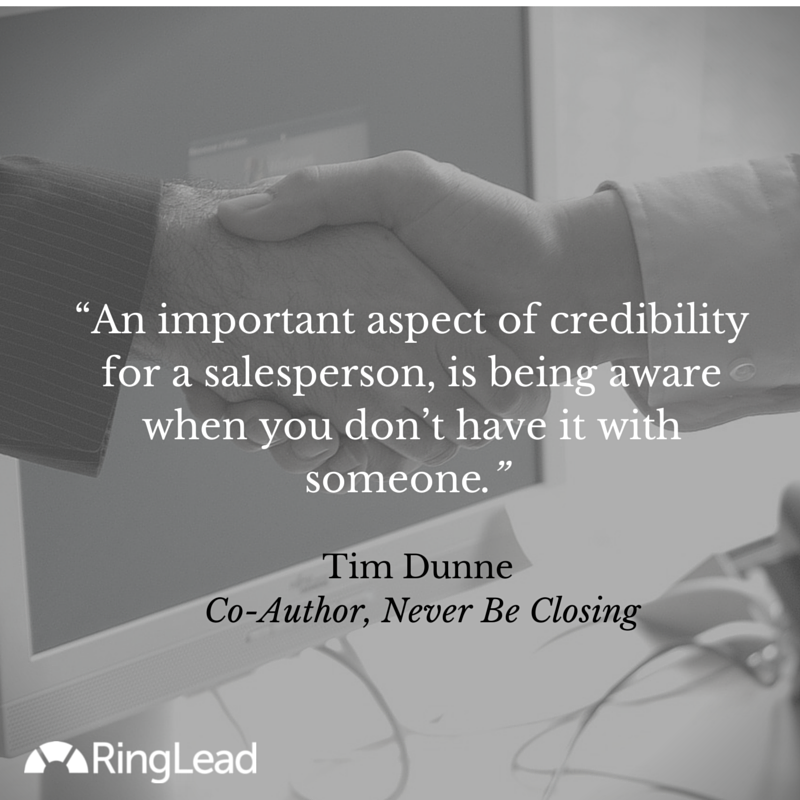 Sales Insight: How to Cross the Credibility Threshold