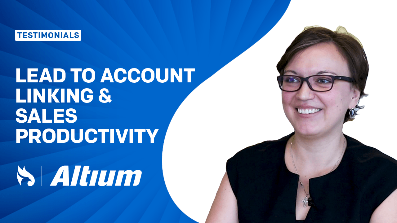 Lead to Account Linking Boosts Productivity