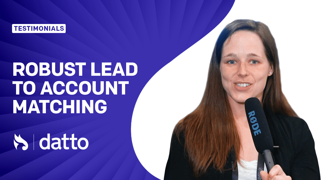 We Needed a Robust Solution for Lead to Account Linking