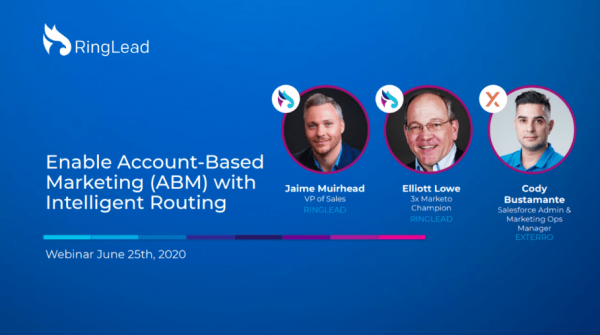 Enable Account-Based Marketing (ABM) with Intelligent Routing