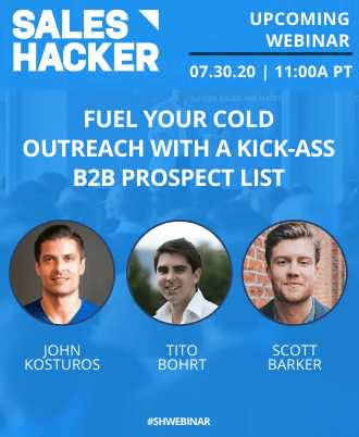 Fuel Your Cold Outreach with the Best B2B Prospect List