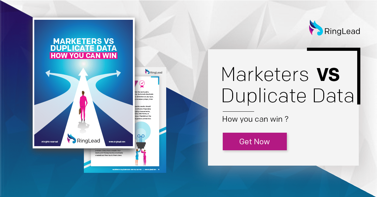 Marketers vs Duplicate Data: How you can Win