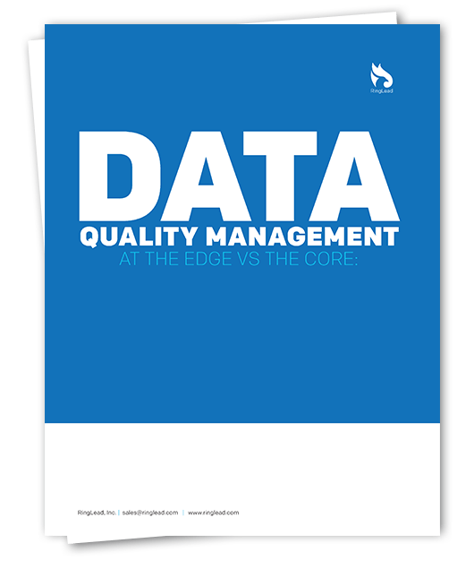 Data Quality Management at the Edge vs Core
