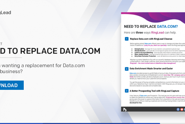 Need to Replace Data.com