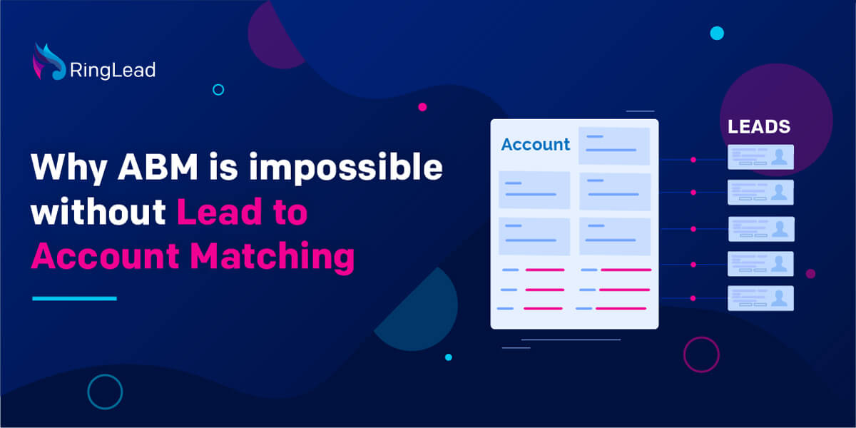 Why Lead-to-Account Matching is Pre-Requisite to Account Based Marketing