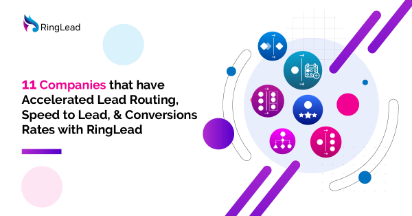 11 Companies that have Accelerated Lead Routing, Speed to Lead, & Conversions Rates with RingLead
