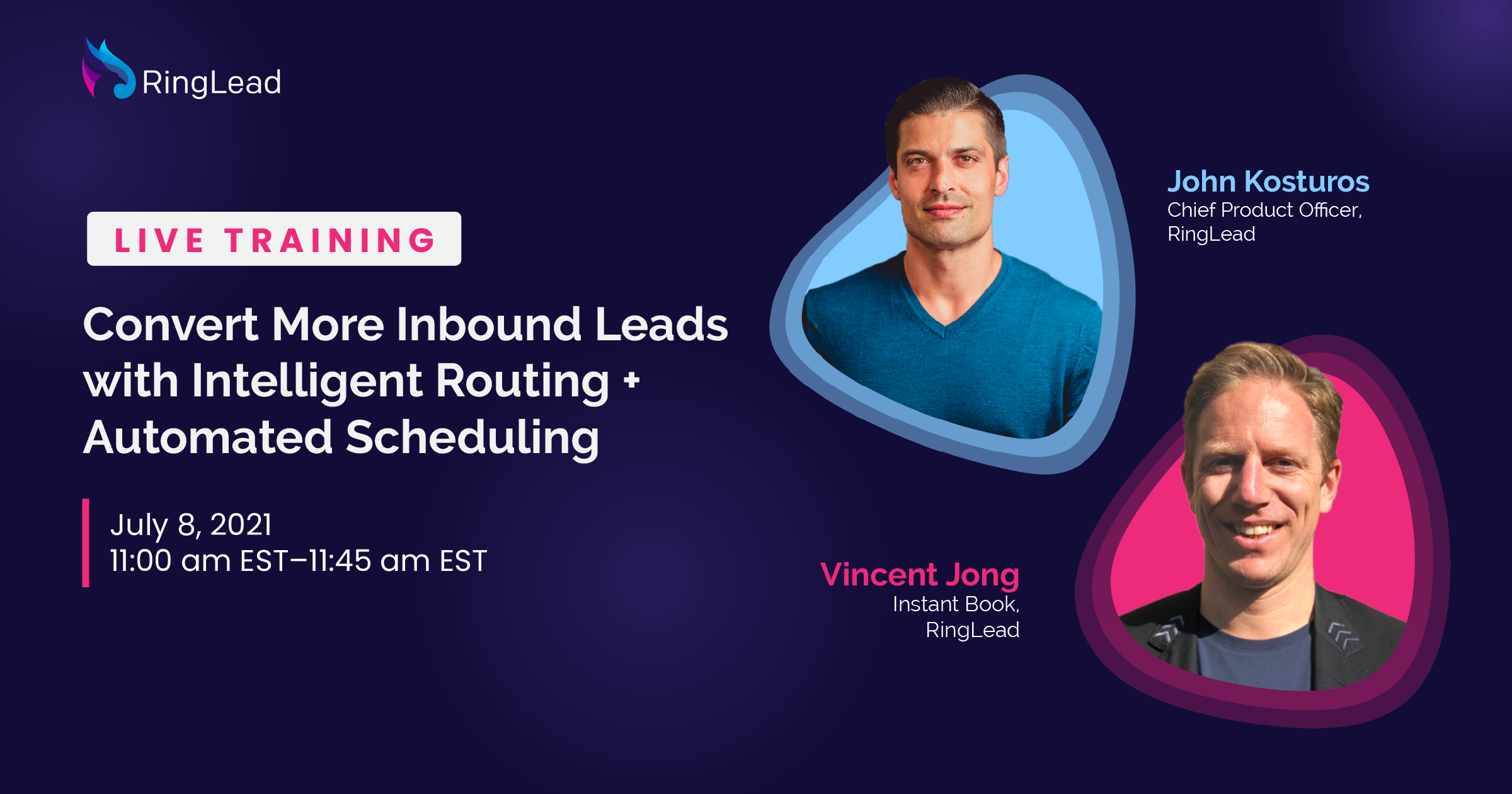 Convert More Inbound Leads with Intelligent Routing + Automated Scheduling